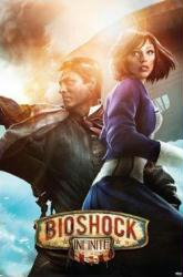 Bioshock Infinite video game poster (24 X 36) Booker & Elizabeth