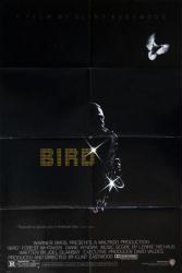 Bird movie poster [Forest Whitaker] 1988 Clint Eastwood film (27x40)