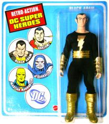 Retro Action DC Super Heroes: Black Adam action figure (Mattel)