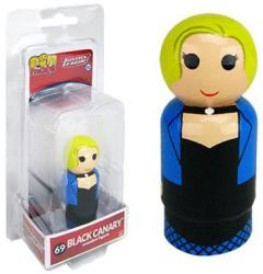 Justice League: Black Canary Pin Mate #69 wooden figure (Bif Bang Pow)