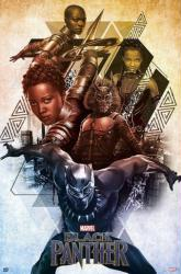 Black Panther movie poster (2018 Marvel Film) 24x36