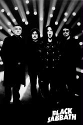 Black Sabbath poster: Reunion (24x36) B&W