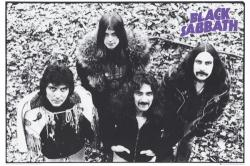 Black Sabbath poster: Black and White (36'' X 24'')