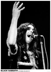 Black Sabbath poster: Rotterdam, Holland 1971 (23.5x33) Ozzy Osbourne
