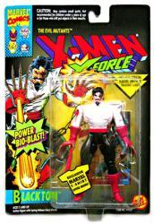 X-Men X-Force: Black Tom action figure (ToyBiz/1994)