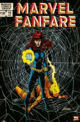 Black Widow poster: Marvel Fanfare Issue 10 (24 X 36) Comic Book Cover
