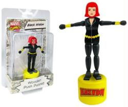 Marvel Comics: Black Widow Wooden Push Puppet figure