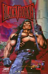 Blackthorne video game poster (Super Nintendo 1994) Interplay
