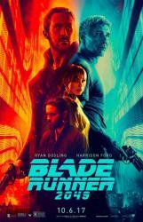 Blade Runner 2049 movie poster [Ryan Gosling, Harrison Ford] 27x40