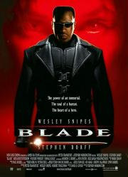 Blade movie poster [Wesley Snipes] original 27x40 one-sheet