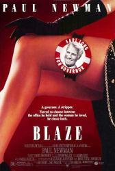 Blaze movie poster [Paul Newman] original 27x40 one-sheet