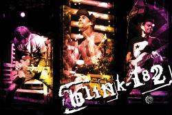 Blink 182 poster: Live (36'' X 24'') Blink-182