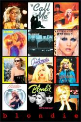 Blondie poster: Single Sleeves (24 X 36) Debbie Harry