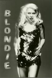 Blondie poster: Glitter (24 X 36) Debbie Harry