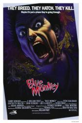 Blue Monkey movie poster (1987 horror film) original 27 X 39.5