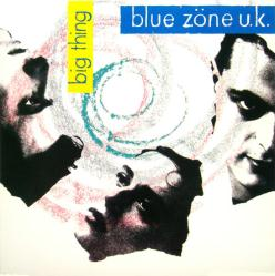 Blue Zone U.K. poster: Big Thing vintage LP/album flat (1988)