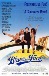 Blue In the Face movie poster [Harvey Keitel, Mira Sorvino] 26x40