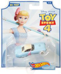 Hot Wheels Character Cars: Toy Story 4 Bo Peep die-cast vehicle