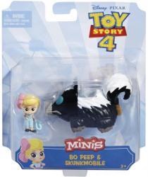 Toy Story 4 Minis: Bo Peep & Skunkmobile figure set (Mattel/2018)