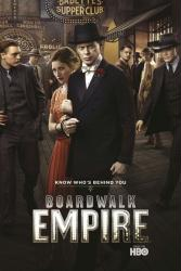 Boardwalk Empire poster [Steve Buscemi, Kelly Macdonald, Michael Pitt]
