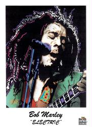 Bob Marley poster: Electric (22'' X 28'') New