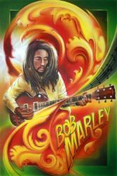Bob Marley poster: Music Notes (24'' X 36'') New