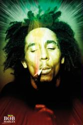 Bob Marley poster: Smoking (24x36)