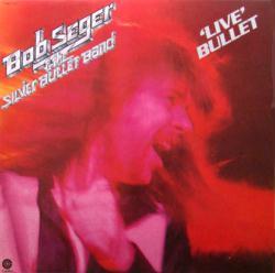 Bob Seger poster: Live Bullet vintage clothesline album flat (1976)