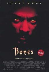 Bones movie poster [Snoop Dogg] 27x40 video version VG