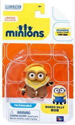 Minions: Bored Silly Bob poseable figure (Thinkway Toys)