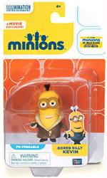 Minions: Bored Silly Kevin poseable figure (Thinkway Toys)