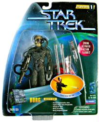 Star Trek Warp Factor Series 1: Borg Galactic Gear figure (Playmates)