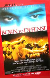 Born to Defense movie poster [Jet Li] 26x40 video poster