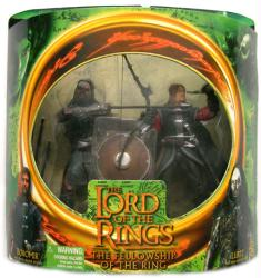 Lord of the Rings [Fellowship of the Ring] Boromir & Lurtz figures set