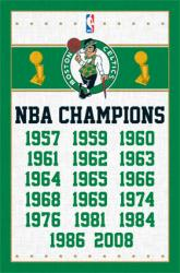 Boston Celtics poster: NBA Champions (22x34)