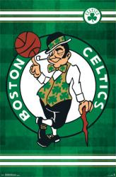 Boston Celtics poster: Logo (NBA) 22x34
