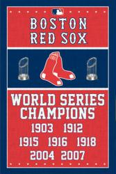 Boston Red Sox poster: MLB World Series Champions (22 1/2'' X 34'')