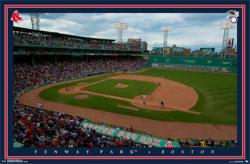 Boston Red Sox poster: Fenway Park (34x22)