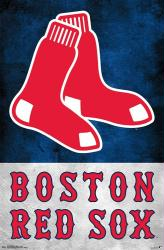Boston Red Sox poster: Logo (22x34) MLB