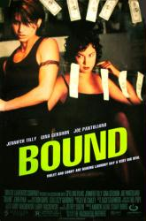 Bound movie poster [Jennifer Tilly, Gina Gershon] original 27x40