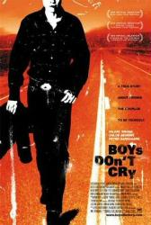 Boys Don't Cry movie poster [Hilary Swank] original 27x40