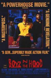 Boyz N the Hood movie poster [Ice Cube, Cuba Gooding Jr] 27 X 40