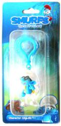 Smurfs The Lost Village: Brainy Character Clip-On figure