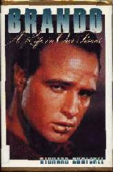 Marlon Brando biography: Brando A Life In Our Times hardback book/1991