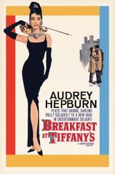 Breakfast At Tiffany's movie poster [Audrey Hepburn] 24'' X 36''
