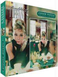 Breakfast At Tiffany's jigsaw puzzle (1000 pc) Audrey Hepburn at table