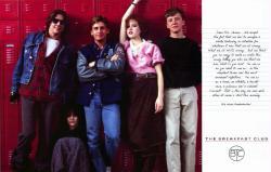 The Breakfast Club movie poster [Molly Ringwald, Emilio Estevez] 36X24
