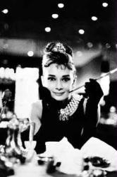 Audrey Hepburn poster (24x36) Breakfast At Tiffany's B&W