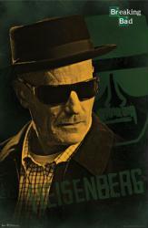 Breaking Bad poster: Heisenberg [Bryan Cranston] 22x34