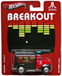 Hot Wheels Nostalgic Brands: Atari Breakout '49 Ford C.O.E. diecast